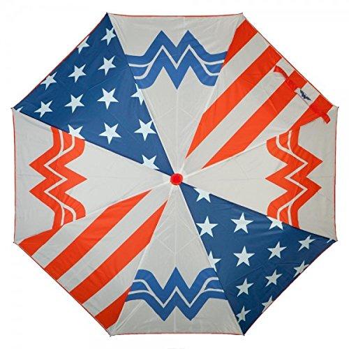 DC Comics Wonder Woman Panel Regenschirm