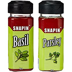 Snapin Basil Herb 15g + Snapin Parsley Herb 10g