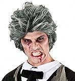 WIDMANN 06742–Perruque Zombie Gris