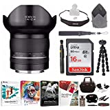 Rokinon SP 14mm F2.4 Ultra Wide Angle Lens With AE Chip For Nikon AE & Deluxe Photography Accessory Kit