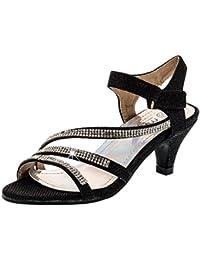 Unbekannt - Zapatos de vestir de Material Sintético para niña