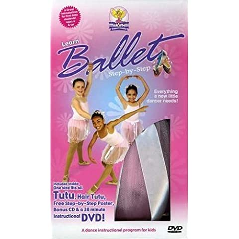 Tinkerbell Dance Studio: Learn Ballet - Step-By-Step by Michele Lundberg