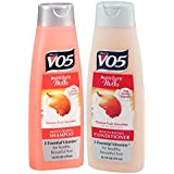 Alberto Vo5 Moisture Milks Moisturizing Shampoo And Conditioner Set Passion Fruit Smoothie 12.5 Fluid Oz.
