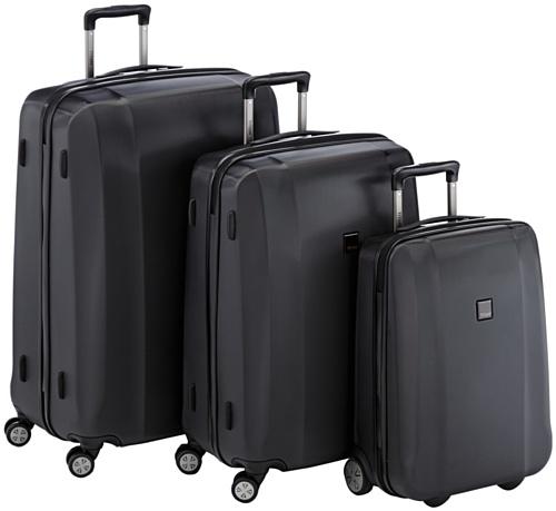 Titan Koffer-Set Xenon, 3-teilig, Schwarz, 809102-01