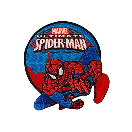 Parches - Ultimate Spider-Man Marvel - azul - 6x7cm