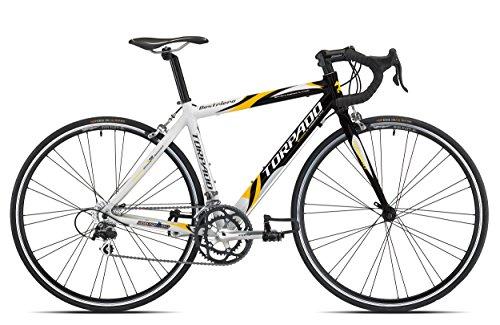 TORPADO BICICLETA CORRER DESTRIERO 9V ALU TALLA 48NEGRO BLANCO (CORSA STRADA)/BICYCLE ROAD DESTRIERO 9S ALU SIZE 48BLACK WHITE (ROAD RACE)
