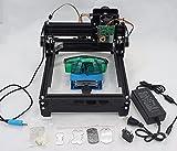 SHUOGOU 15W Laser AS-5, Mini Laser Graviermaschine Gravierer DIY Logo Drucker für Metall Stahl Eisen Stein Holz Bild, 15W AS5 USB Personal CNC Desktop Laser Engraver