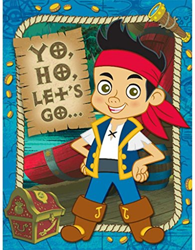 Disney Jake and the Never Land Pirates Invitations ()