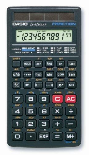 Casio FX-82 SOLAR S Calcolatrice tascabile solare