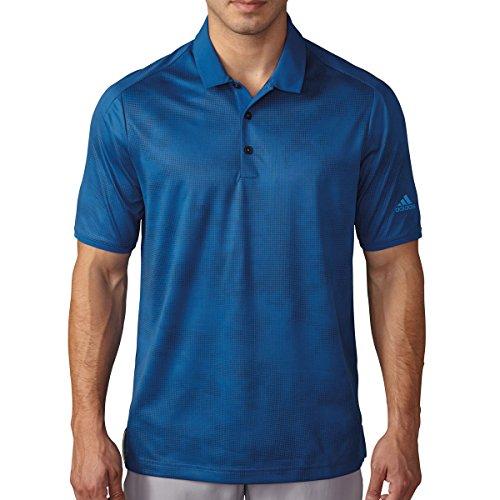 Adidas Herren Poloshirt Climachill dot-fade EQT Blue/Mineral Blue