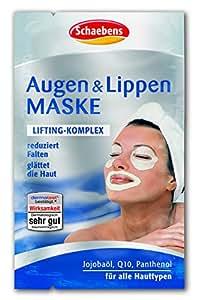 Schaebens Masque Yeux et Lèvres Lot de 10(10x 6ml)
