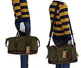 Estarer Reisetsache  Weekender Tasche aus Canvas Segeltuch Vintage 50 Liter - 3