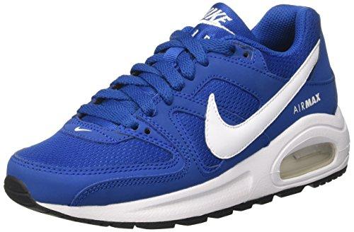 Nike Air Max Command Flex, Scarpe da Ginnastica Basse Unisex - Bambini, Blu (Blue Jay/White/Black), 38 EU