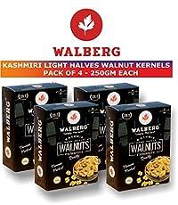 Walberg Light Halves Walnut Kernels 250g Pack of 4