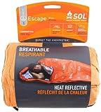 Adventure Medical Kits  - Saco de dormir momia para acampada, color naranja