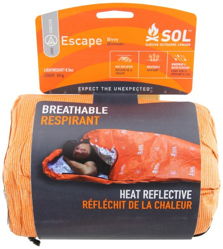 ADVENTURE MEDICAL KITS  - SACO DE DORMIR MOMIA PARA ACAMPADA  COLOR NARANJA