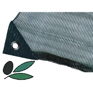 Olivennetz aus Tuch. 8 x 8 m, mit Öffnung.