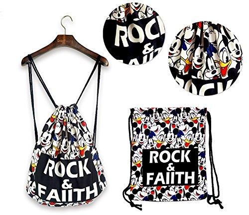 Oath_song , Damen Rucksackhandtasche L C17