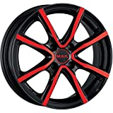 MAK MILANO 4 CERCHI IN LEGA BLACK AND RED 4,5x15 4x100