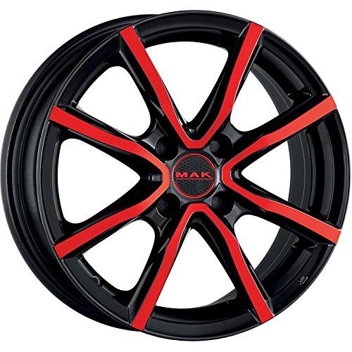 MAK-MILANO-4-CERCHI-IN-LEGA-BLACK-AND-RED-45x15-4x100