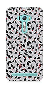 Amez designer printed 3d premium high quality back case cover for Asus Zenfone Selfie (Leaves patterns s surface texture plant)