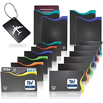 Neueste Kollektion Von Schutzhülle Rfid Nfc Für Kreditkarten Ec Karten Personalausweis Kartenhülle Safe Kleidung & Accessoires Geldbörsen & Etuis