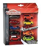 Majorette - 212054003 - Vehicule Miniature - B200 -  Lot de 8 Pièces Classiques + 2...