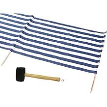IDENA Windschutz ca.800X80cm füt Strand, Camping und Garten