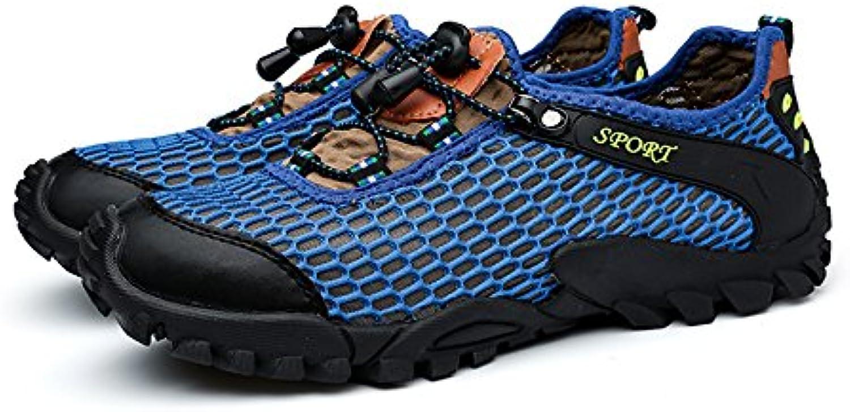 SDIiLAN - Botas de Senderismo de Sintético para Hombre Azul Azul, Color Azul, Talla 41  -