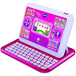 VTech - Genio Little App, tablet educativo para niños, color rosa (3480-155557)