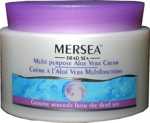 Mersea Totes Meer Aloe Vera Creme | Feuchtigkeitscreme | 250ml | Testsieger auf totes-meer-therapie.de | Natürliche Mineralien, Vitamine...