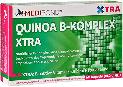 Quinoa B Komplex XTRA Medibond 60 Kapseln