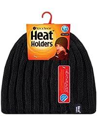 Heat Holders - Bonnet -  - Uni Homme Noir Noir