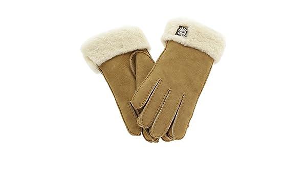 UGG Sheepskin Bow Handschuhe beige L: : Baumarkt