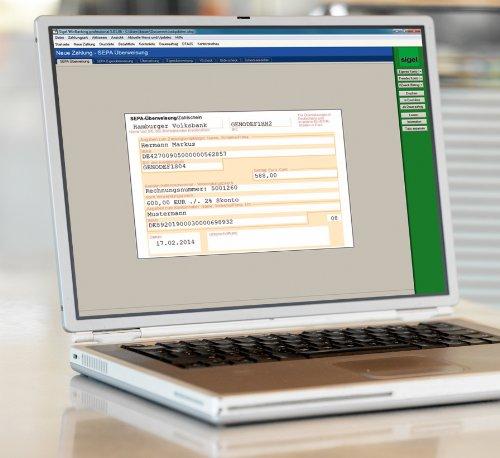 Sigel SW235 WinBanking Professional, Software für Bankformular-Management, inkl. 60 Bankformulare - auch für SEPA - 7