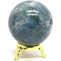 Heilung Kristalle Indien 40–50mm natur Edelstein Kugel Ball Aura Balancing metaphysisch Ball (Moosachat) preisvergleich bei billige-tabletten.eu