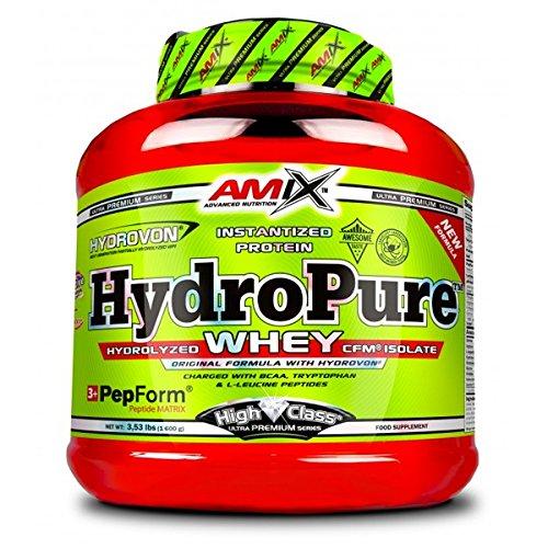 Amix High Class HydroPure Whey Aislado de Proteína de Suero de Leche Hidrolizado - 1600 gr