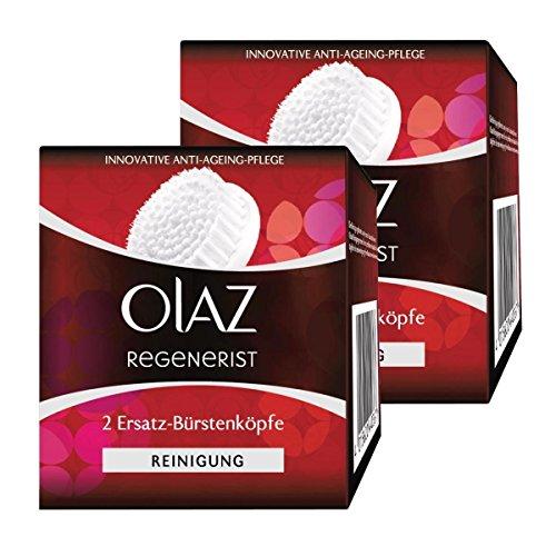 Olaz Regenerist 2 Ersatz-Bürstenköpfe für das 3 Zonen Reinigungssystem (2er Pack)