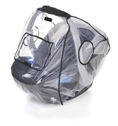 Your Baby 10320 Komfort Regenschutz für Babyschale mit verschließbarem Fenster