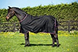 Horseware Amigo Turnout Hero 6 Lite Black with Purple & Mint Weidedecke 115-160 (155)