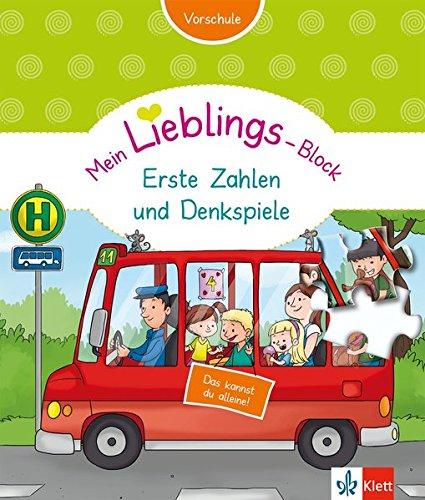 Klett Mein Lieblings-Block Erste Zahlen und Denkspiele: Vorschule ab 5 Jahren. Das kannst du alleine!