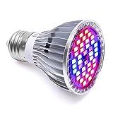 LONGKO 30W 40LED Ampoule Lampe de Croissance Eclairage E27...