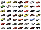 Hot wheels Basic Car Pack of 6 Die Cast Cars Assortment