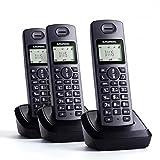 GRUNDIG D1115 Trio (sp) Schnurloses Telefon mit 3x Mobilteil und Anrufbeantworter