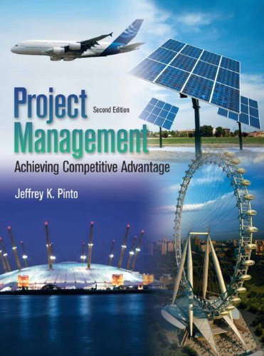 Project Management (2nd Edition) by Pinto, Jeffrey K. (2013) Hardcover