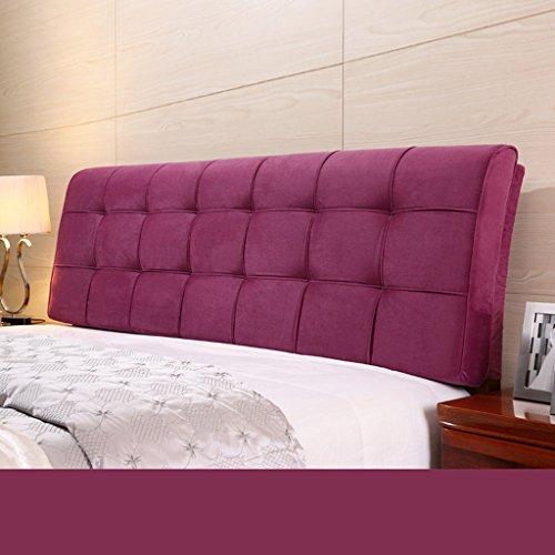 Dossier De Chevet Coussin ergonomique moderne Linge de tissu Linge de lit sans poche Grand dossier Ensemble de coussin Housse de lit Big Pillow Pure Color 58 * 190cm (Couleur : I)
