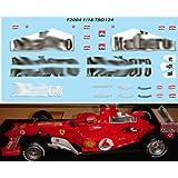 1/18 FERRARI F1 F2004 MICHAEL SCHUMACHER SPONSOR DECALS TB DECAL TBD124