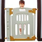 Der Geschmack von zu Hause Baby-Sicherheitstür Isolationstür Kinder Balkon schützender Zaun Treppenschutz Schutz fixierte Schutztür (Farbe : Gate 1)