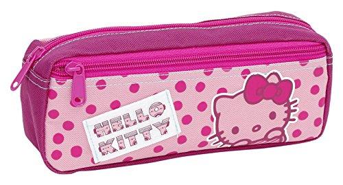 Giochi Preziosi - Hello Kitty Astuccio Bustina, con 2 Cerniere