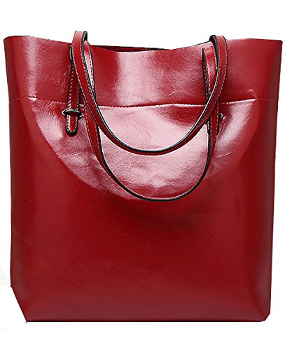 Vincico, Borsa a mano donna verde Green Wine Red